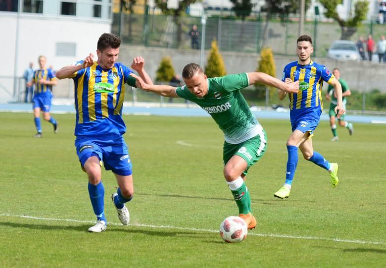 Patryk Mikita zdobył gola dla Radomiaka w meczu z Pogonią Siedlce.