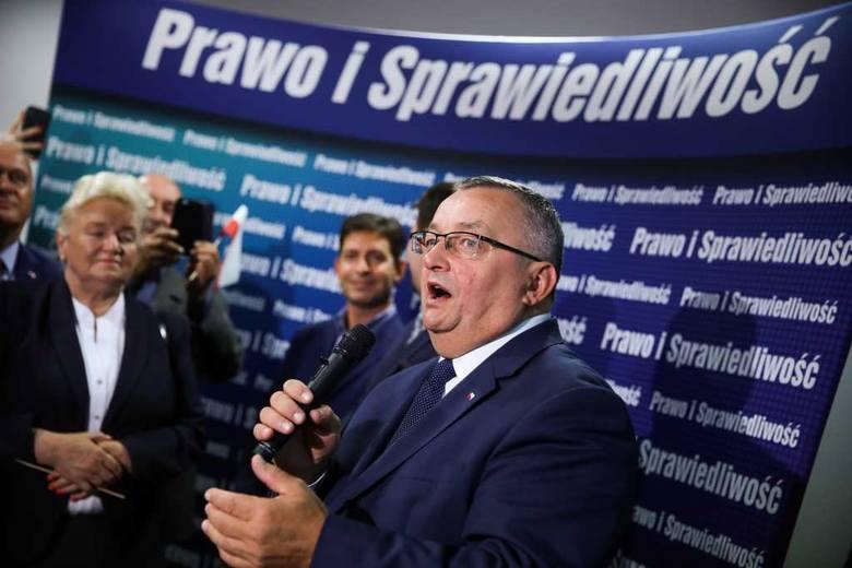 Wybory parlamentarne 2019: Euforia na wieczorze wyborczym PiS w Krakowie