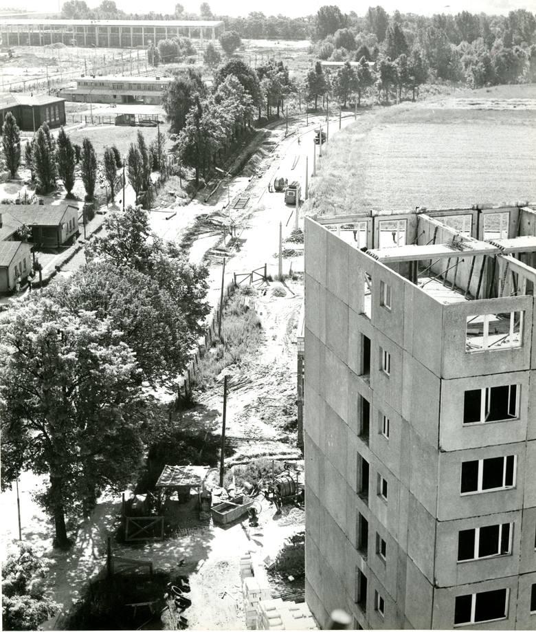budowa osiedla Dolinki w Gorzowie
