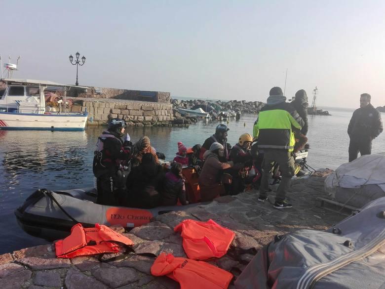 Trzy  miesiące trwała misja 39-letniej łodzianki, funkcjonariuszki Komendy Głównej Straży Granicznej, na wyspie Lesbos w Grecji. Funkcjonariuszka patrolowała