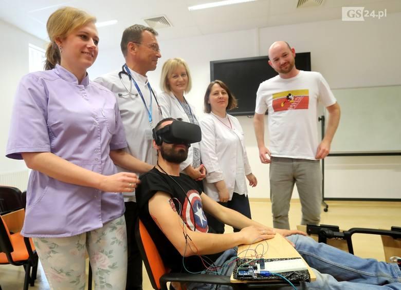 Szpital Pomorzany: W szpitalu jak w biurze podróży. Pacjenci będą zwiedzać świat [ZDJĘCIA, WIDEO]