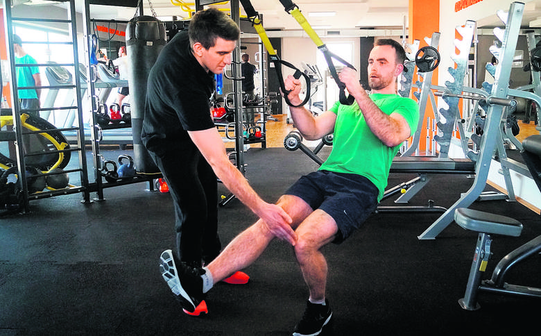 A jeśli mamy styczeń, to siłownie są pełne. Znów wszyscy chcemy być fit