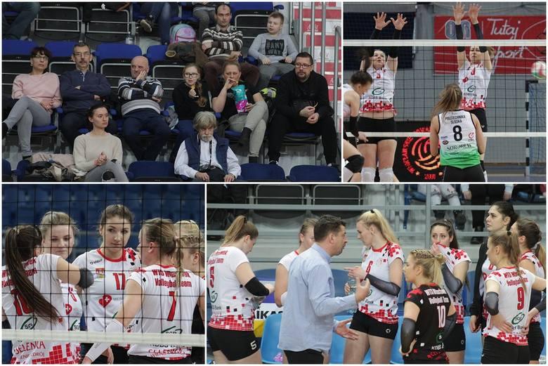 Mecz 1. ligi siatkówki kobiet WTS KDBS Włocławek - AZS Politechniki Śl. Gliwice.Mecz I ligi siatkówki kobiet WTS Włocławek - AZS Gliwice