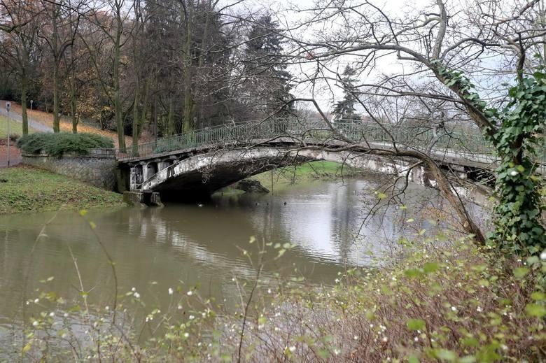 Kto chce wyremontować Mostek Japoński w Parku Kasprowicza w Szczecinie? Zgłosiły się trzy firmy