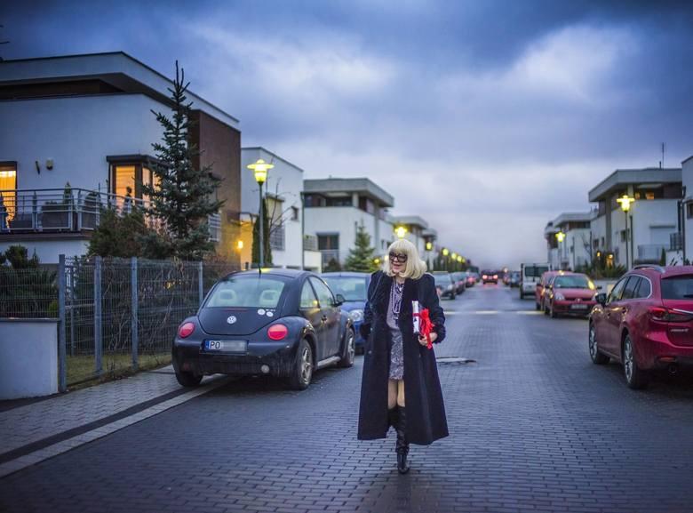 Urszula Sipińska na jej magicznej uliczce