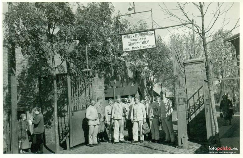 12. 1941, Armeeverpflegungs Hauptlager Skierniewice and Marketenderei. Prawdopodobnie teren dzisiejszego FUMOSu