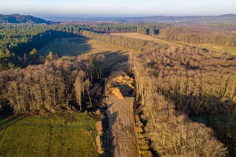 W budowie są już trzy odcinki S6 między Bożympolem Wielkim a Gdynią o łącznej długości ok. 41 km. Odcinek od Bożepola Wielkiego do Luzina o długości
