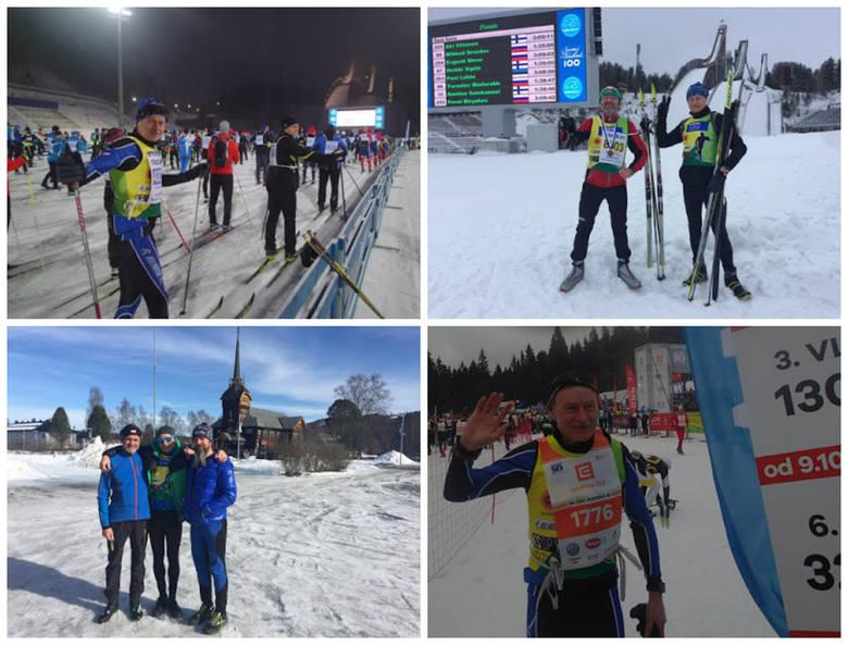 Waldemar Spychalski biega na nartach po Australii