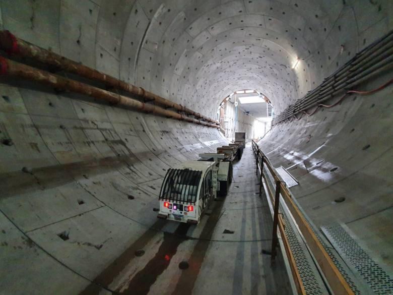 budowa tunelu pod Świną