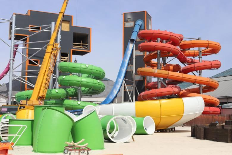 Choć baseny są jeszcze zamknięte, łódzki aquapark Fala przygotowuje się do otwarcia. Dla amatorów wodnego szaleństwa przygotowuje kolejne atrakcje. Powstaną
