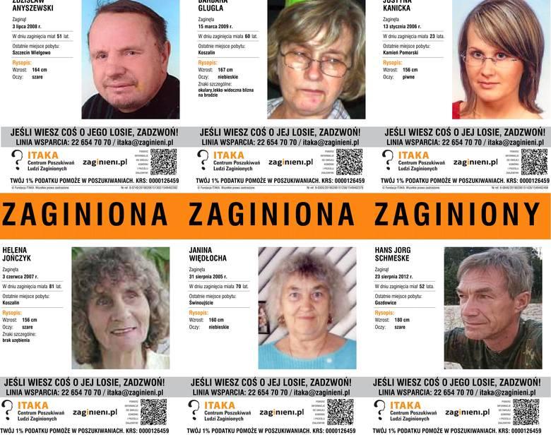 Prezentujemy zdjęcia oraz opisy zaginionych osób w naszym województwie. Może macie o kimś informacje? Zobacz także: Koszalin/Sianów: Wypadek na krajowej