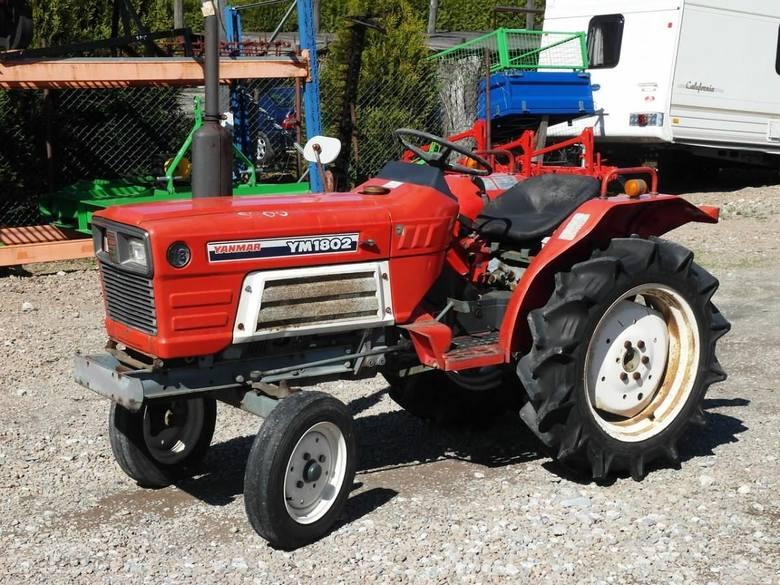 Yanmar YM1802 Traktorek 18KM Maszyna Komunalna 9 900,00 złOFERTA