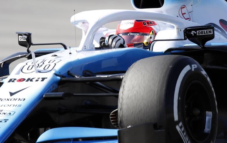 Kubica dojechał do mety na ostatnim miejscu.