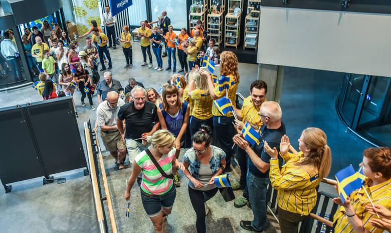 Otwarcie sklepu Ikea w Bydgoszczy.