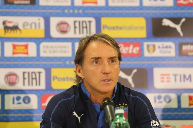 Roberto Mancini - selekcjoner reprezentacji Włoch