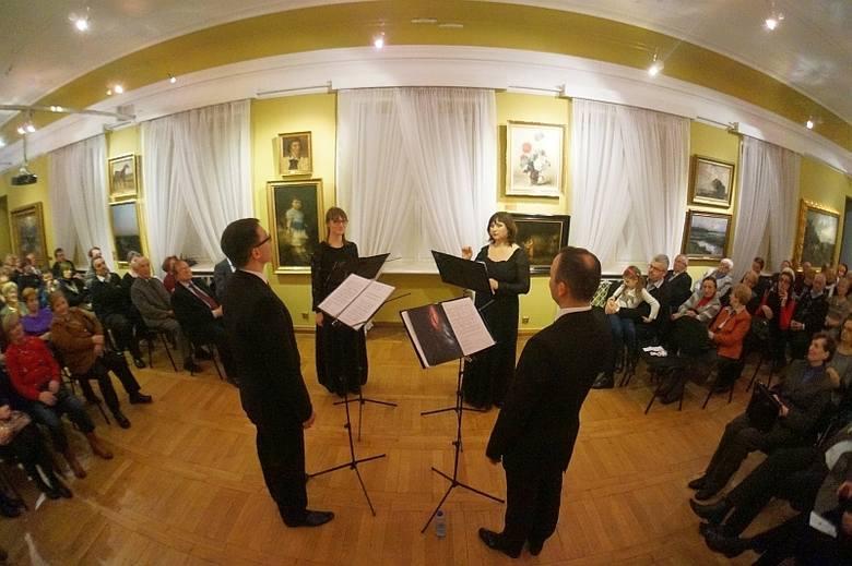 Ensemble Quattro Voce nagrało kompozycje Maksyma Berezowskiego (zdjęcia, wideo)