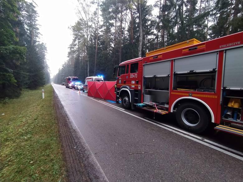 Na drodze Białystok - Michałowo doszło do śmiertelnego wypadku