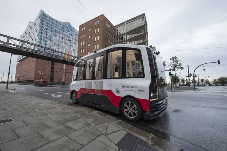 W Hamburgu w ramach projektu HEAT były testowane pojazdy autonomiczne