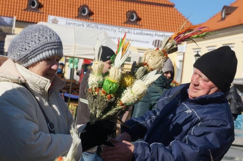 Rynek Kościuszki. XXIV Jarmark Wielkanocny Sztuki Ludowej Podlasia (zdjęcia, wideo)