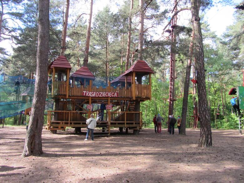 Poznań za pół ceny - odwiedzających Park Pyrlandia jest tak dużo, że na niektórych trasach przejście jest spowolnione.