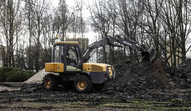 Remont parku w Rzeszowie przy Rycerskiej rozpoczęty. Prace potrwają do jesieni 2019 roku