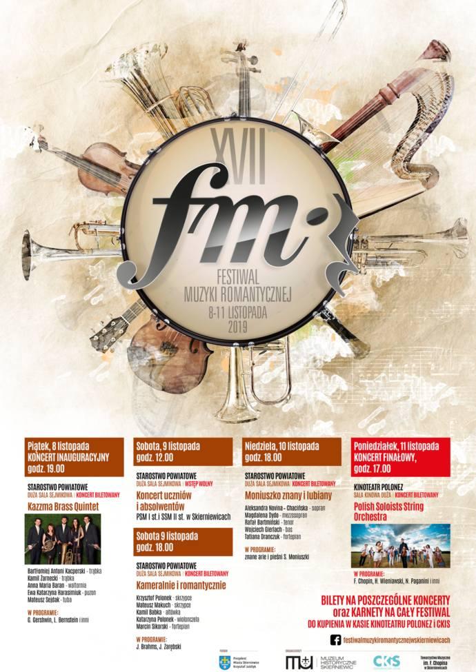 Jesień w mieście: Festiwal Muzyki Romantycznej i Święto Niepodległości