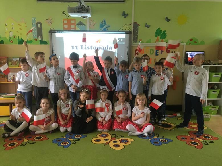 8 listopada w Przedszkolu Stokrotka odbył się uroczysty apel z okazji święta narodowego – Dnia Niepodległości. Uroczystość zorganizowano dla wszystkich