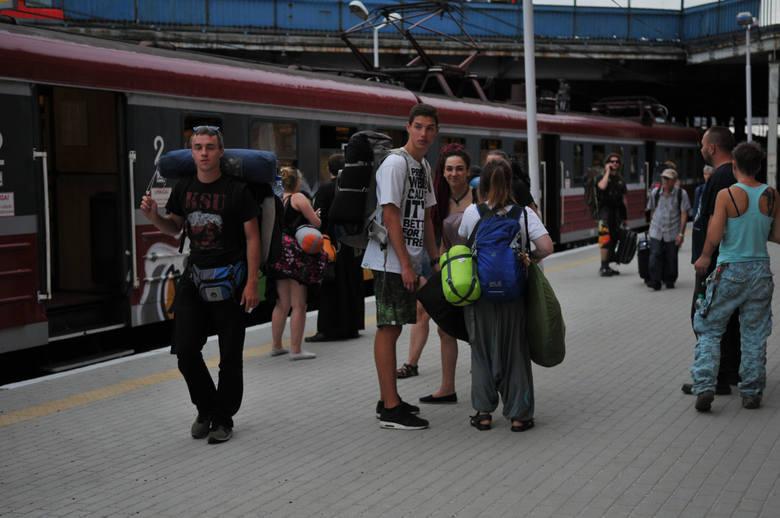 pociągi na Przystanek Woodstock 2016