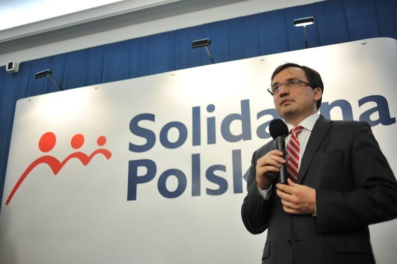 Partia Zbigniewa Ziobry będzie miała nowego sekretarza generalnego. Mariusz Gosek zrezygnował z funkcji.
