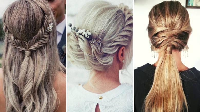 Fryzury na wesele największą popularnością cieszą się latem – wtedy sezon ślubny jest w pełni, a upalna pogoda sprawia, że tym chętniej panie decydują