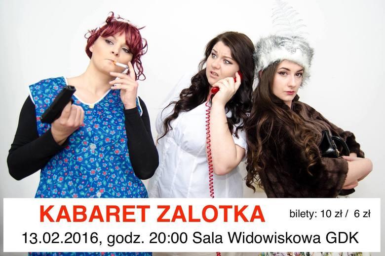Zaproszenie na występ kabaretu