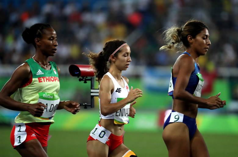 Rio 2016: Sofia Ennaoui dziesiąta w biegu na 1500 metrów