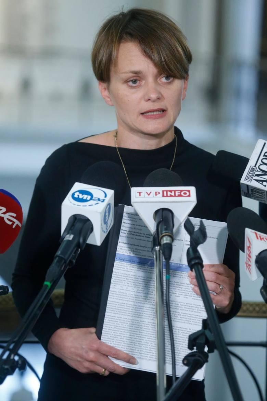 Jadwiga Emilewicz wydała oświadczenie w sprawie swoich synów
