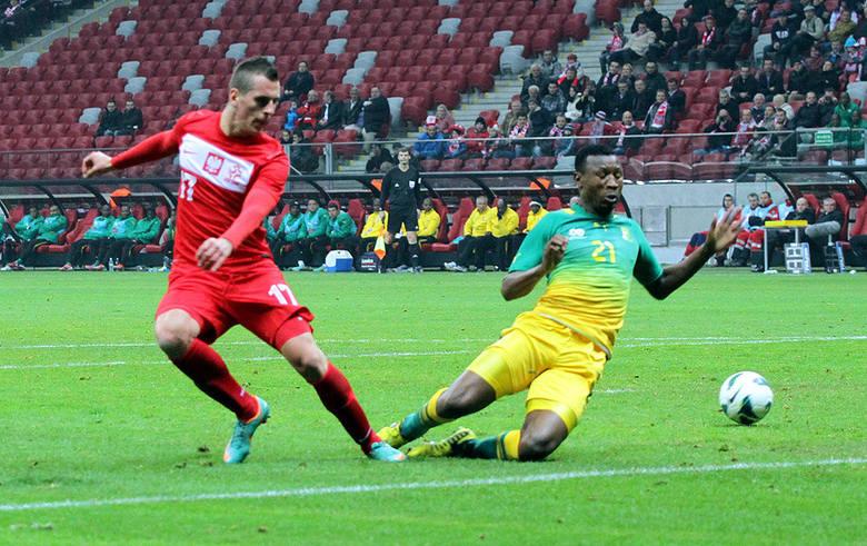 Piłkarska reprezentacja Polski pokonała 1:0 RPA