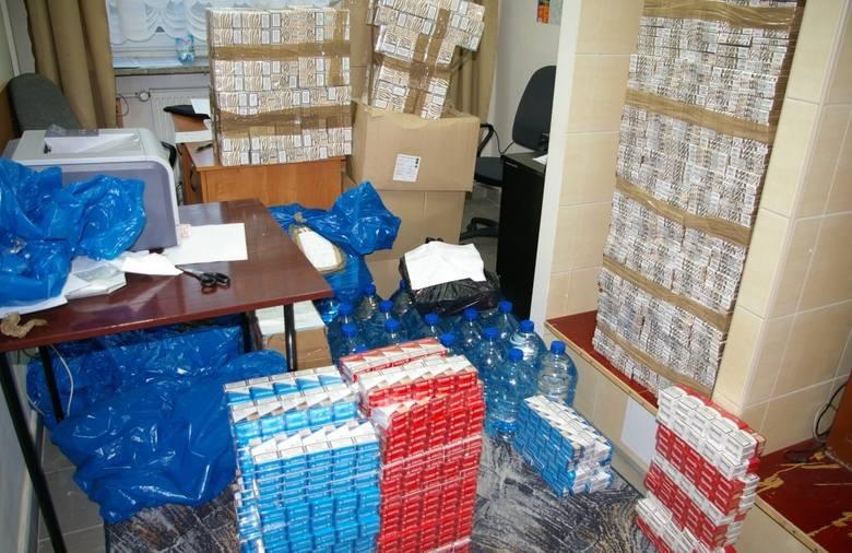 Wygoda: Policja zatrzymała kontrabandę wartą ponad 86 tysięcy złotych (zdjęcia)