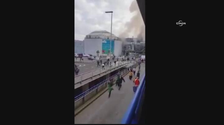 Dwa wybuchy na brukselskim lotnisku. Są zabici i ranni
