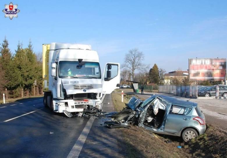 Śmiertelny wypadek w Sitańcu. Czy kierowca był pod wpływem narkotyków?