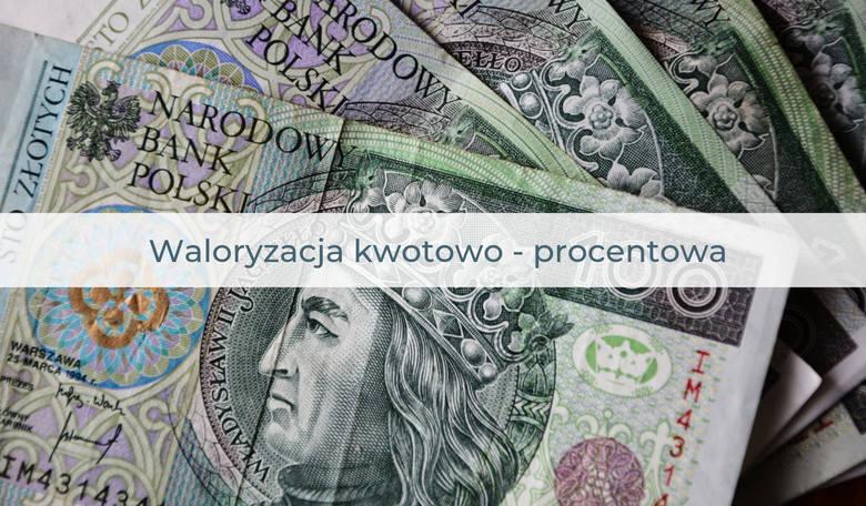 W 2020 r. PiS planuje znowu wprowadzić waloryzację kwotowo-procentową. Dzięki niej zyskają najbiedniejsi. Na podobnej zasadzie przeprowadzona była waloryzacja