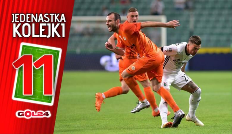 Trzech z Zagłębia Lubin. Jedenastka 1. kolejki Lotto Ekstraklasy według GOL24 [GALERIA]