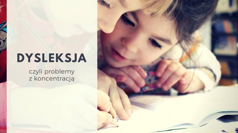 Problemy z koncentracją, czyli DYSLEKSJAW praktyce oznacza problemy z nauką czytania i pisania. Dyslektycy mogą mieć także zaburzenia mowy, uwagi i koncentracji.
