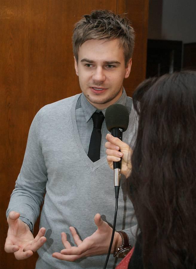 Eurowizja. Marcin Mroziński w Inowrocławiu [zobacz film, zdjęcia]