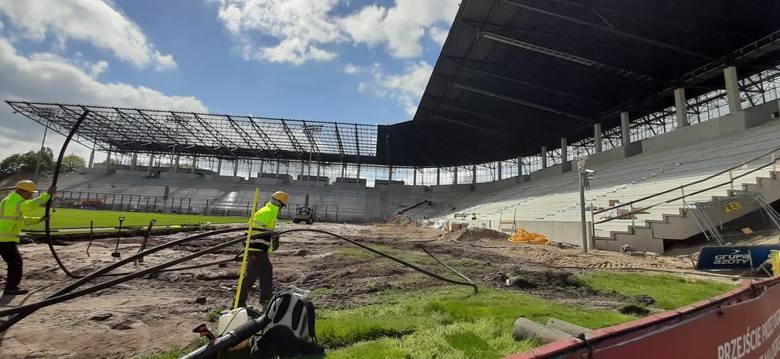 Stadion Pogoni - 7 maja 2020.