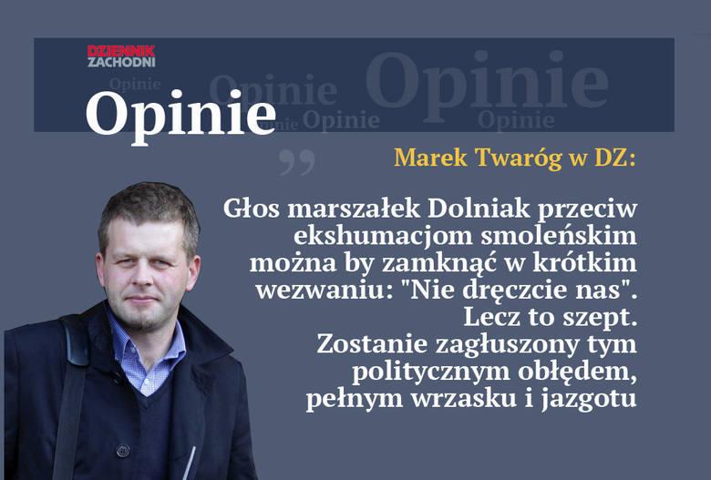 "Barbara Dolniak o ekshumacjach ofiar Smoleńska ""To okrutne"""