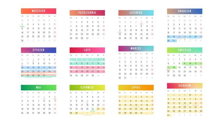 Kalendarz roku szkolnego 2020 TERMINY wakacji, świąt, dni wolne w szkole. Nowy kalendarz szkolny