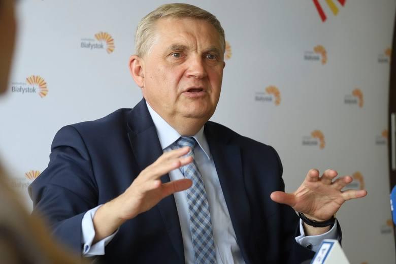 Prezydent Tadeusz Truskolaski