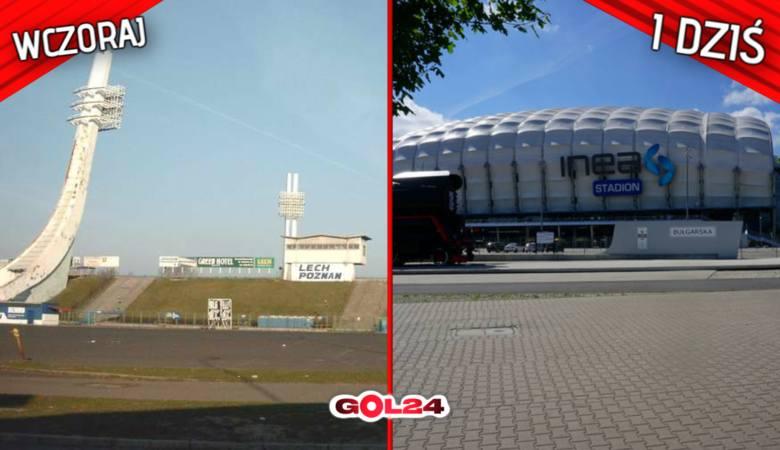 Jeszcze dekadę temu nasze oczy zwrócone były na zachód, gdzie w poważnych europejskich ligach każdy klub miał piękny i niezwykle klimatyczny stadion.