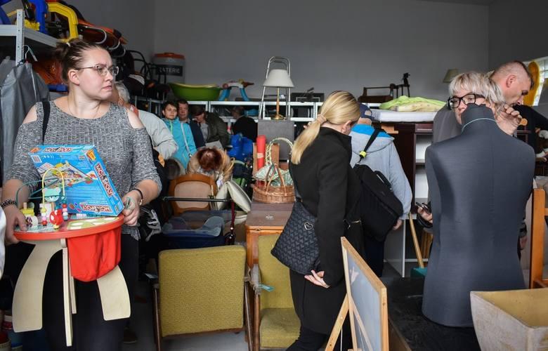 Wraca Galeria Szpargałek. To pierwsza środa z charytatywną akcją szczecińskiego ekoportu po wakacjach. Galeria będzie czynna w wybraną środę raz w miesiącu