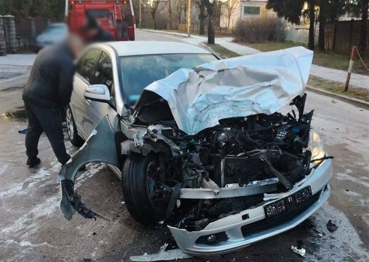 Do zdarzenia doszło dziś w środę kilka minut przed godz. 8.00. Oficer dyżurny gołdapskiej policji otrzymał zgłoszenie o zdarzeniu drogowym które miało