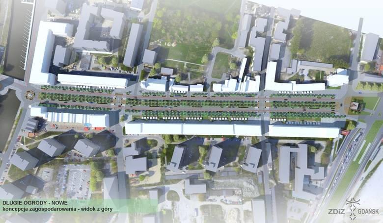 Wizualizacja nowych parkingów