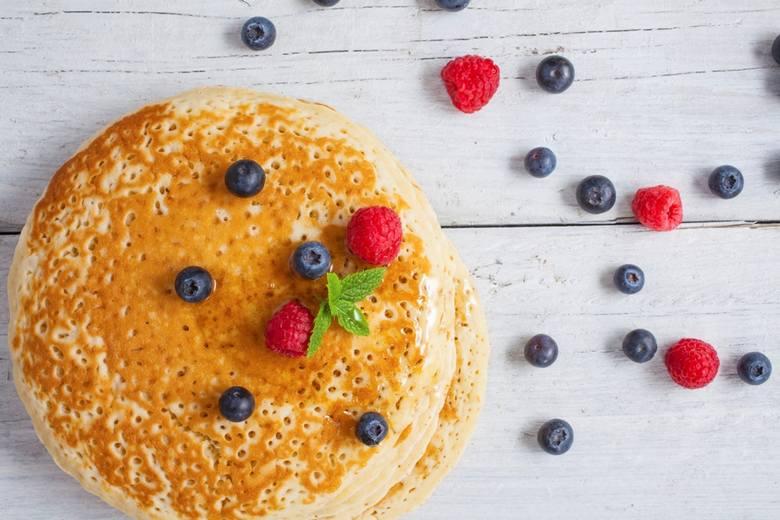 nalesniki, pancakes, nalesniki amerykanskie,  przepis na nalesniki amerykanskie